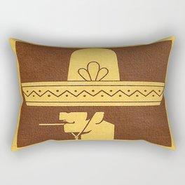 Mexicano - Vintage Cigarette Rectangular Pillow