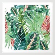 Havana jungle Art Print