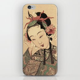 You are so beautiful more than flower and moon iPhone Skin