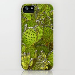 Cactus Jumble iPhone Case