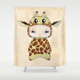 A Boy - Giraf Shower Curtain