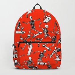 Grim Ripper Skater RED Backpack