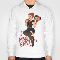 soul eater Hoodies featuring Man eater. by Noble Demons