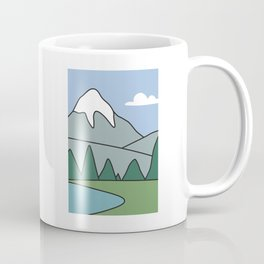 Landscape from the living room of the Griffin family #2 Coffee Mug