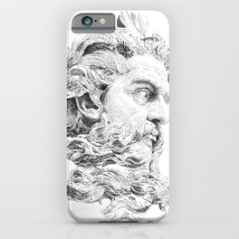 Neptune God of the Sea iPhone Case