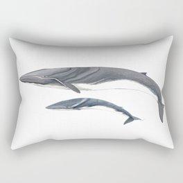 Fin whale Rectangular Pillow