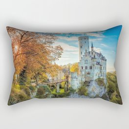 Awesome Antique Castle Europe UHD Rectangular Pillow