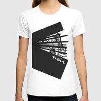 noir T-shirts featuring Noir by Ryan Bradford