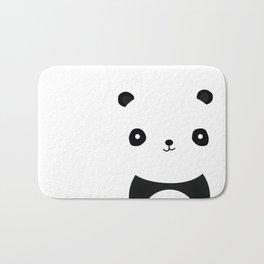 Minimal Panda Bath Mat