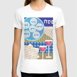 Pessach Table T-shirt
