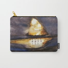 Bright Dark Carry-All Pouch