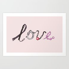 Toy Love Art Print