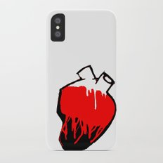 Washed by blood. Slim Case iPhone X