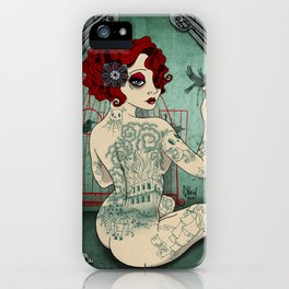 Inchiostri ribelli iPhone Case