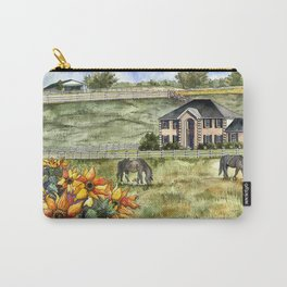 The Horse Ranch Carry-All Pouch