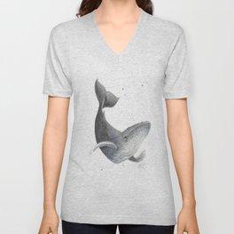 Humpback Whale Unisex V-Neck