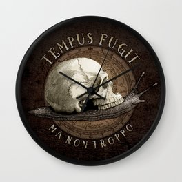 Tempus Fugit (ma non troppo) Wall Clock