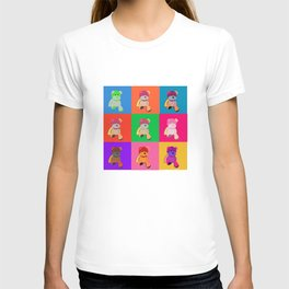 Pop Art Teddy Bear T-shirt