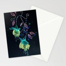 flower earrings Stationery Cards