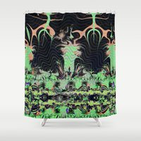 giants Shower Curtains featuring There Might Be Giants by Jim Pavelle