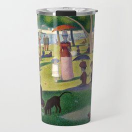 "Georges Seurat ""A Sunday Afternoon on the Island of La Grande Jatte"" Travel Mug"