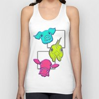 farm Tank Tops featuring Farm Animals by LiS Fotografie