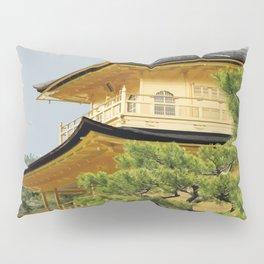 Kyoto Kinkaku-ji Temple Japan Artwork Pillow Sham