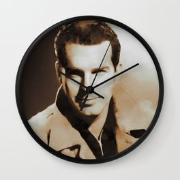 Hollywood Classics, Fred MacMurray, Actor Wall Clock