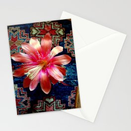 Cactus Flower By Design Stationery Cards