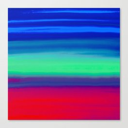 Rocket Blue Canvas Print