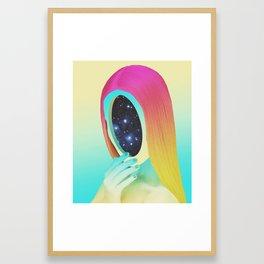 Galexia Framed Art Print