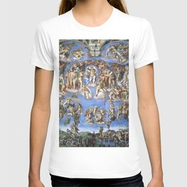 "Michelangelo ""The Last Judgment"" T-shirt"