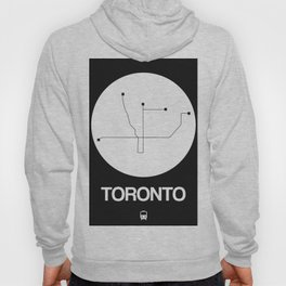 Toronto White Subway Map Hoody
