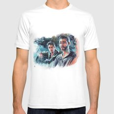 without us - sterek White MEDIUM Mens Fitted Tee