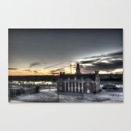 Vicksburg, Mississippi Depot Canvas Print