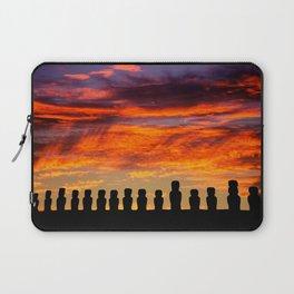 EASTER ISLAND SUNRISE Laptop Sleeve