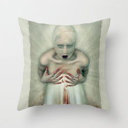 Losing Teeth Throw Pillow