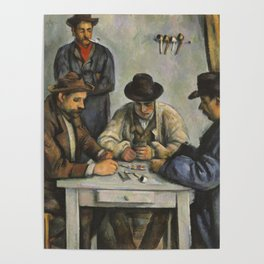 The Card Players Poster