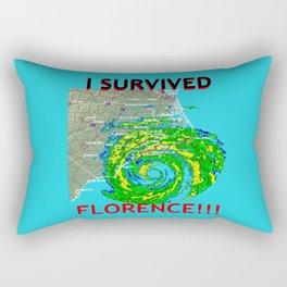 I Survived Hurricane Florence!!! Rectangular Pillow