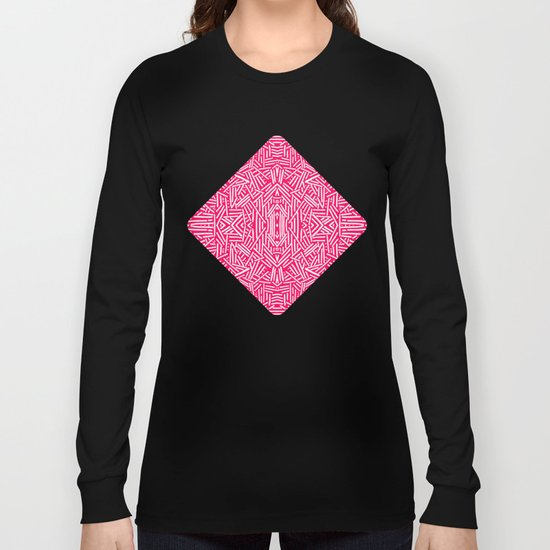Radiate (Coral) Long Sleeve T-shirt