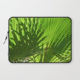 Shades of Palm Leaves Laptop Sleeve