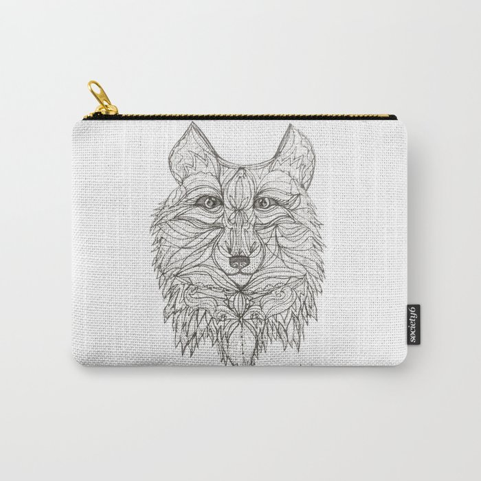 Mr Wolf Carry-All Pouch