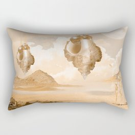 Mission on a far planet Rectangular Pillow