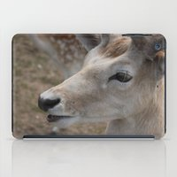 bambi iPad Cases featuring Bambi by Justine Nicole