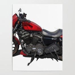 Harley original artwork Poster