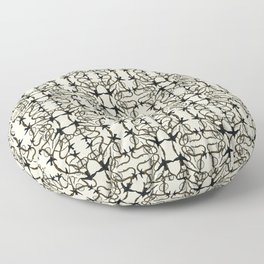 Frida Kahlo´s thorn  Floor Pillow