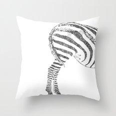 More Ass Than Horse Throw Pillow