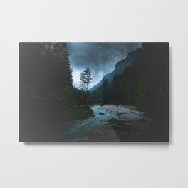 Landscape Mood #creek Metal Print