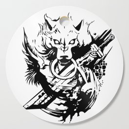 Wolf and Sword Cutting Board