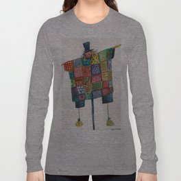Quilted Scarecrow Long Sleeve T-shirt